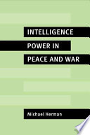 Intelligence Power in Peace and War