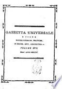 Gazzetta universale, o sieno