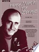 Henry Mancini For Strings Volume Ii