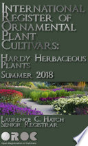 International Register of Ornamental Plant Cultivars