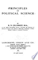 Principles of Political Science