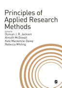 Principles of Applied Research Methods
