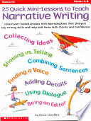 25 Quick Mini Lessons to Teach Narrative Writing