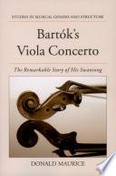 Bart  k s Viola Concerto