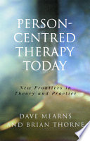 Person Centred Therapy Today