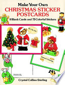 Make Your Own Christmas Sticker Postcards