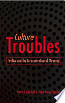 Culture Troubles