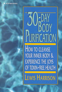 30 day Body Purification