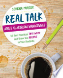 Real Talk About Classroom Management