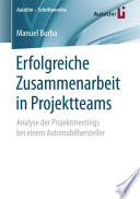 Erfolgreiche Zusammenarbeit in Projektteams