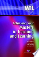 Achieving your Masters in Teaching and Learning