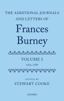 The Additional Journals and Letters of Frances Burney