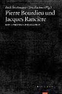 Pierre Bourdieu und Jacques Rancière