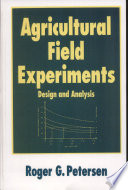 Agricultural Field Experiments