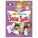 204 Fold and Say Social Skills