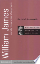 Ebook William James and the Metaphysics of Experience Epub David C. Lamberth Apps Read Mobile
