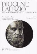Vite e dottrine dei pi   celebri filosofi