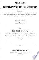 Nouveau Dictionnaire de Marine      Fran  ais Danois et Danois Fran  ais  etc