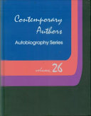 Contemporary Authors Autobiographical Series About 20 Autobiographical Essays Written Exclusively For