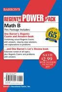 Regents Math B Power Pack
