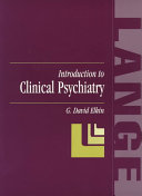 Introduction to Clinical Psychiatry