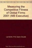 Measuring the Competitive Fitness of Global Firms 2001