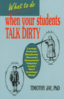 What to Do when Your Students Talk Dirty