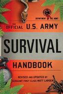 U  S  Army Survival Handbook