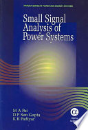 Small Signal Analysis of Power Systems
