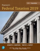 Pearson s Federal Taxation 2019 Corporations  Partnerships  Estates and Trusts