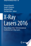 X-Ray Lasers 2016 : presented at the 15th international conference...