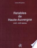 illustration Retables de Haute-Auvergne