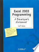 Excel 2003 Programming