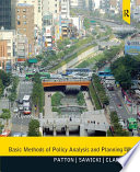 Basic Methods of Policy Analysis and Planning    Pearson eText