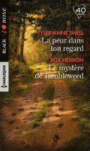 download ebook la peur dans ton regard - le mystère de tumbleweed pdf epub
