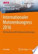 Internationaler Motorenkongress 2016