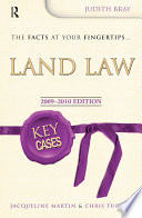 Key Cases Land Law  Second Edition