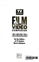 TV Guide film   video companion