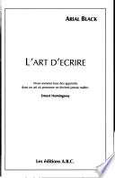 L art D ecrire
