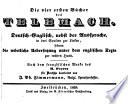 Die vier ersten Bücher des Telemach