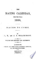 Racing Calendar
