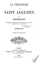 La philosophie de Saint Augustin