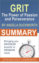 Summary of Grit by Angela Duckworth