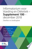 Informatorium Voor Voeding En Di Tetiek Supplement 100 December 2018