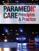Paramedic Care  Principles   Practice