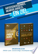 Guide To The Project Management Body Of Knowledge Pmbok R Guide Sixth Edition Agile Practice Guide Bundle German