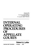 Internal Operating Procedures Of Appellate Courts