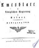 Amtsblatt der Preußischen Regierung zu Erfurt