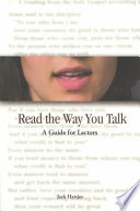 Read the Way You Talk