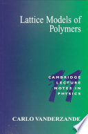 Lattice Models of Polymers